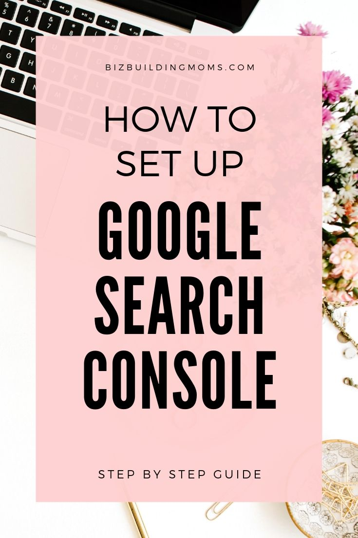 how to set up google search console 2019
