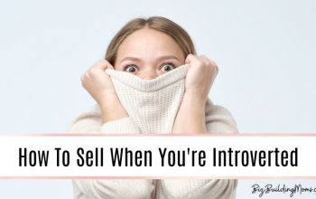 Introvert working in sales