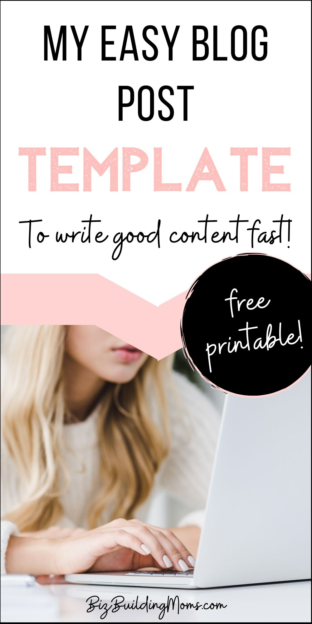 single blog post template wordpress