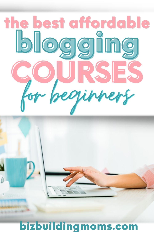 Best Online Blogging Courses PIN image